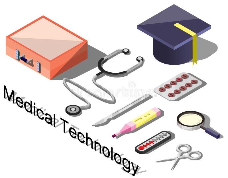 Ilustracja ewidencyjny graficzny medyczny pojęcie ilustracja wektor