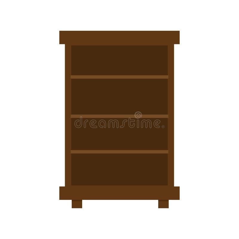 Ilustracja garderoba, p?aska ikona nowoczesne w domu ilustracja wektor