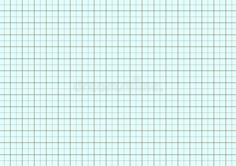 ilustracja inżynieria wykresu papier ilustracja wektor