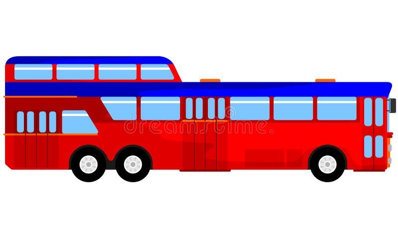 Ilustracja jawny transport ilustracja wektor