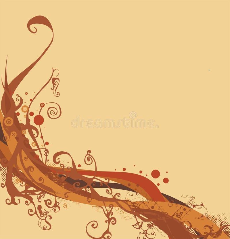 ilustracja jesienią royalty ilustracja