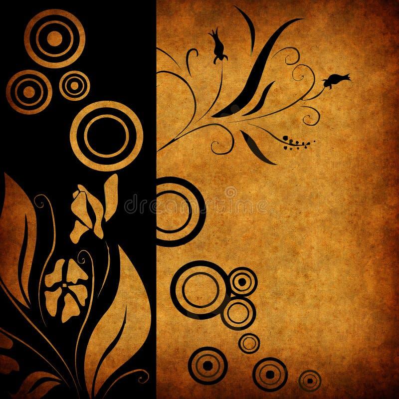 ilustracja kwiecista tło royalty ilustracja