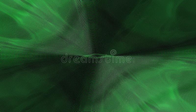Ilustracja, Piękny Zielony tło ilustracji