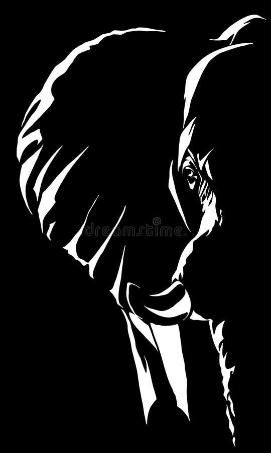 Download Ilustracja słonia ilustracja wektor. Obraz złożonej z ogromny - 242401