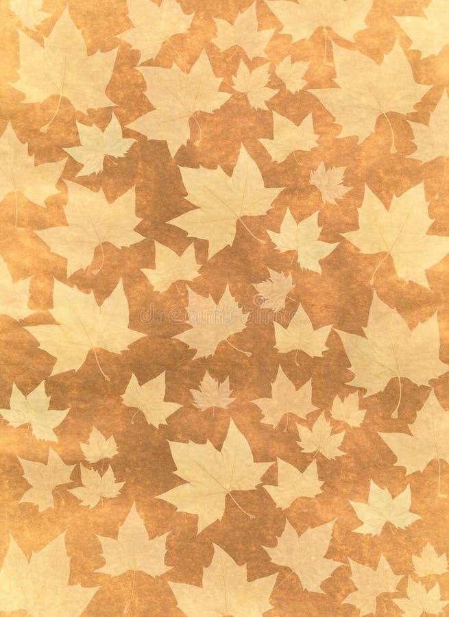 ilustracja tła jesienią royalty ilustracja