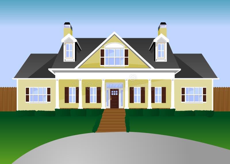 ilustracja w domu ilustracja wektor