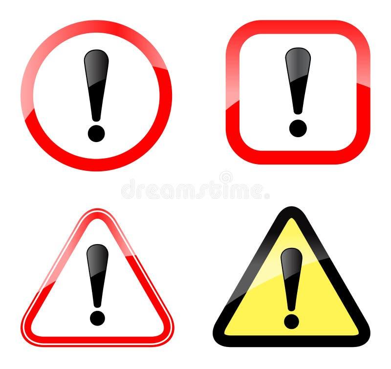 Znak ostrzegawczy ilustracja wektor