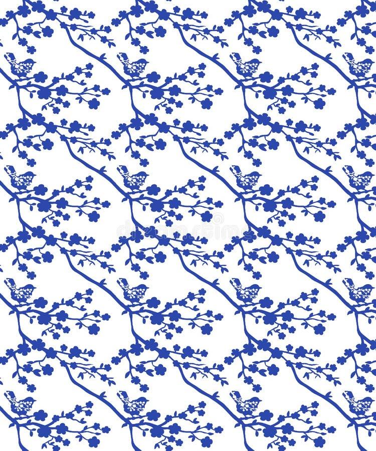 Ilustracje motywu Allover Pattern Flower ilustracja wektor