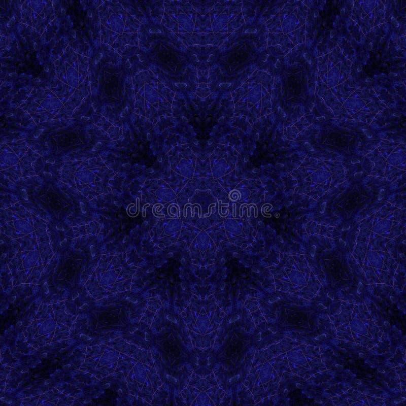 Ilustracji psychodelicznego fractal futurystyczny geometryczny kolorowy royalty ilustracja