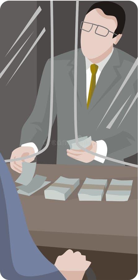 ilustracyjna serii usług royalty ilustracja