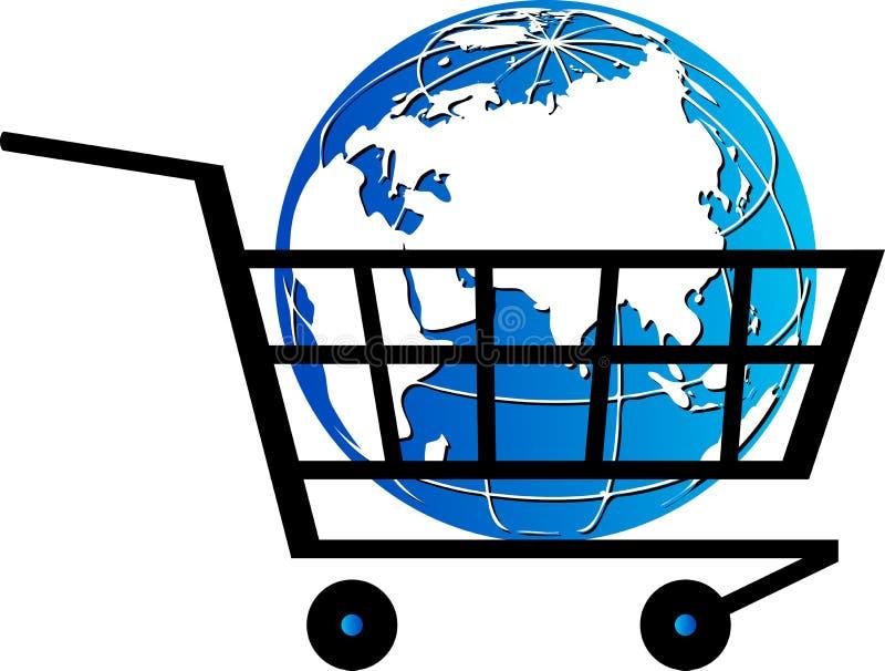 Zakupu świat ilustracji