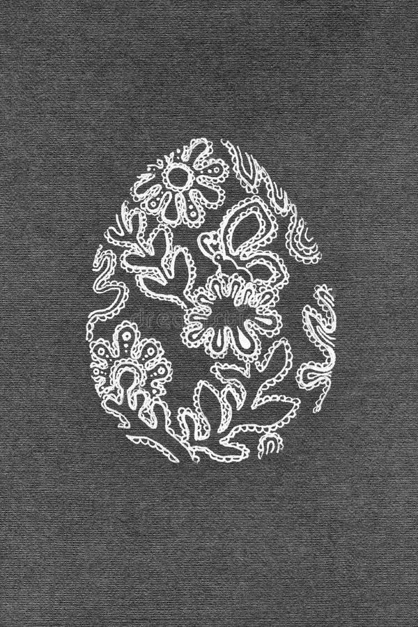 Ilustracyjna Wielkanocnego jajka koronka zdjęcia royalty free