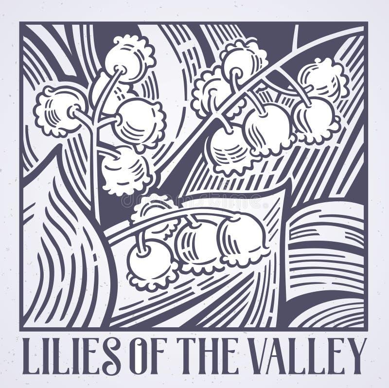Ilustracyjne leluje dolina ilustracji