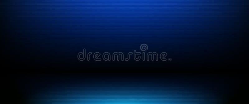 Ilustracyjny abstrakta światła lampasów linii wzór Wektorowy graficzny projekt z pustym miejscem, opróżnia przestrzeń na gradient ilustracji