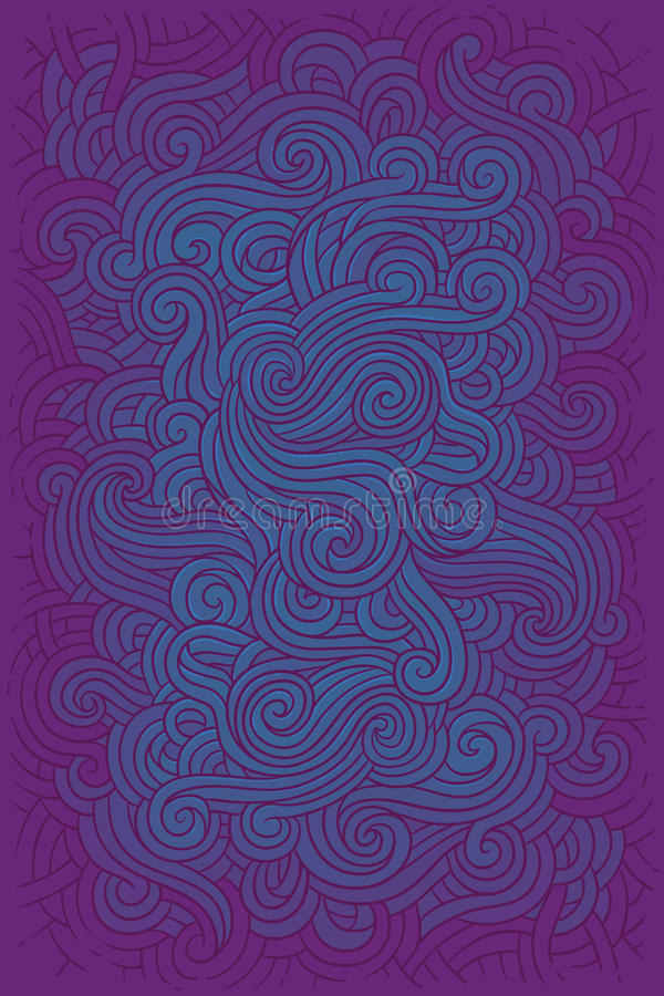 ilustracyjny hipisa tło ja royalty ilustracja