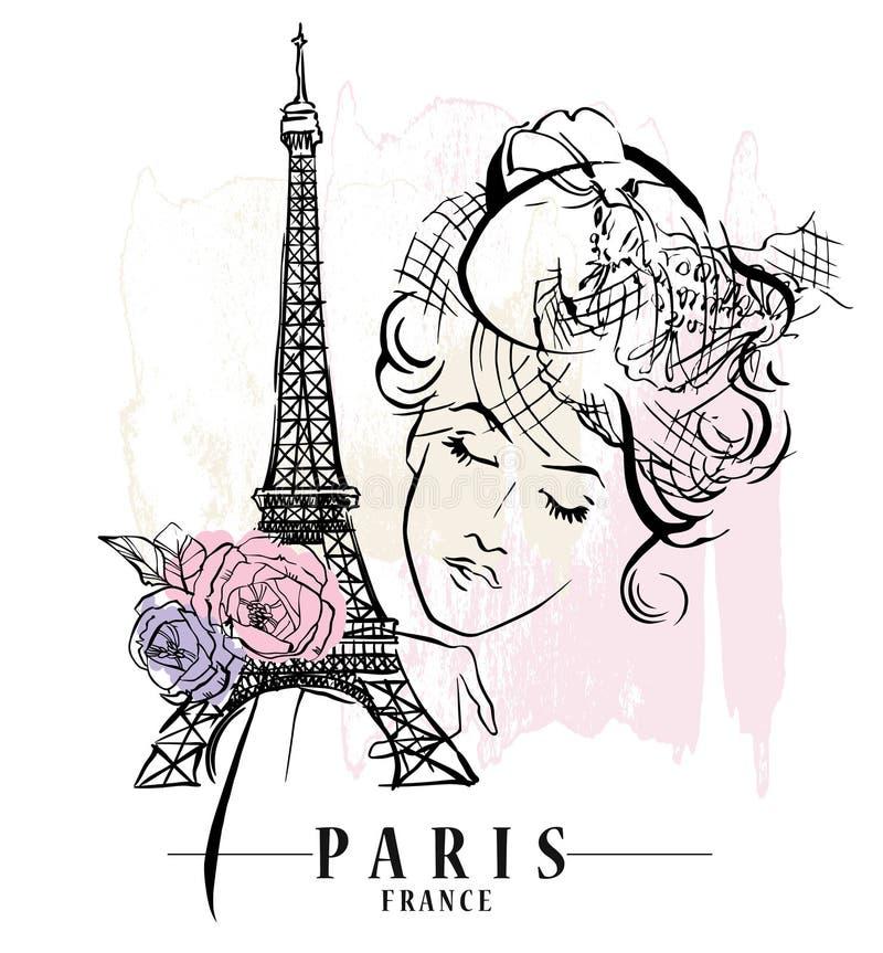 ilustracyjny Paris ilustracji