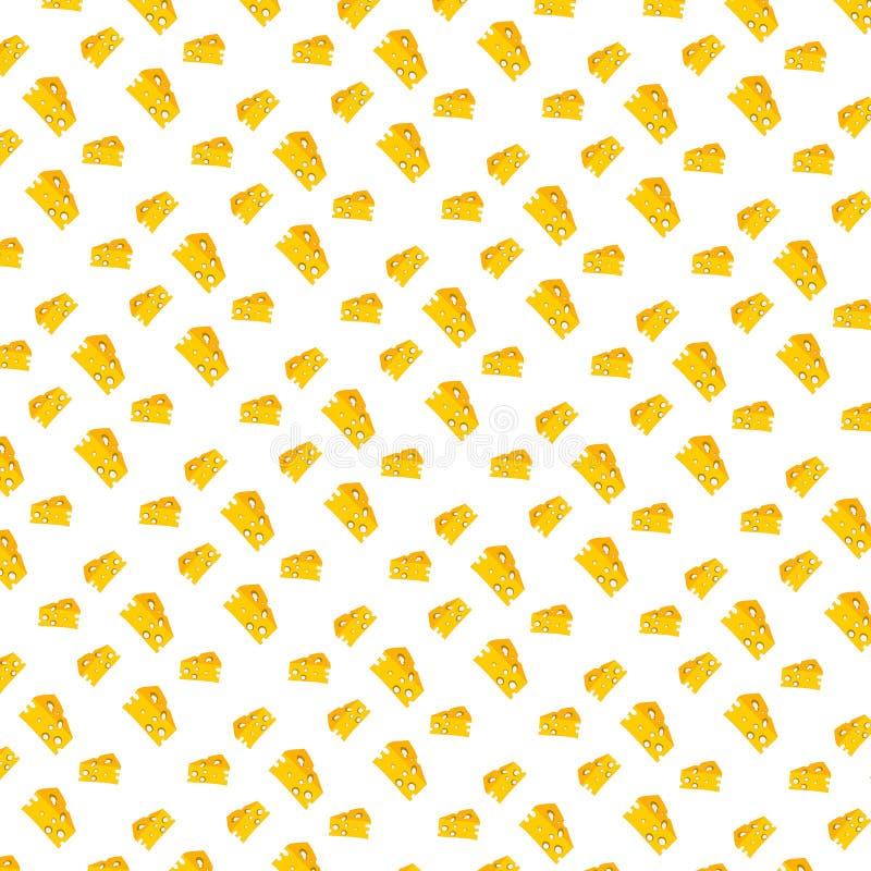 ilustracyjny serowy tło zdjęcie stock