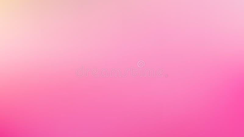 Ilustrador De Fondo De Pantalla De Imagen Rosa Blur stock de ilustración