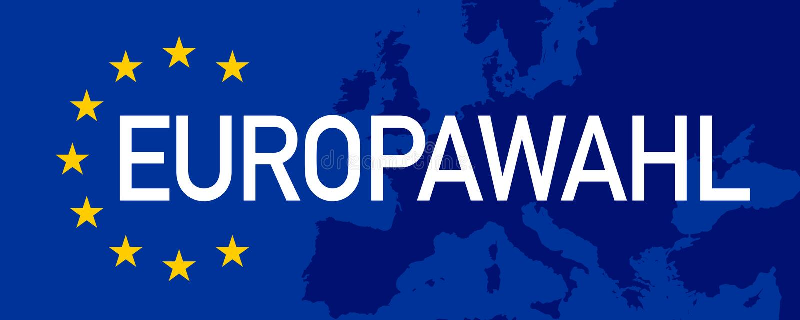 Ilustration με την ευρωπαϊκή εκλογή 2019 απεικόνιση αποθεμάτων
