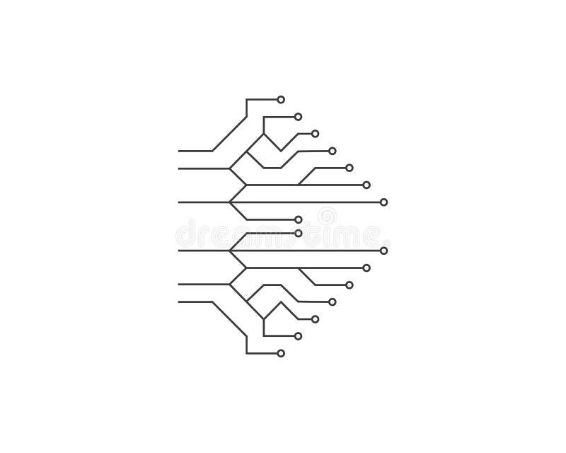 ilustration технологии цепи бесплатная иллюстрация