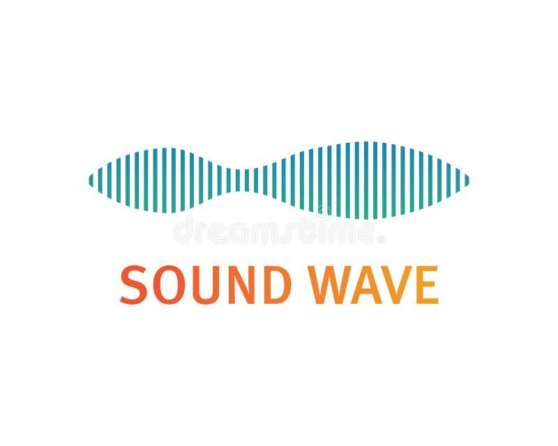 ilustration d'onde sonore illustration libre de droits