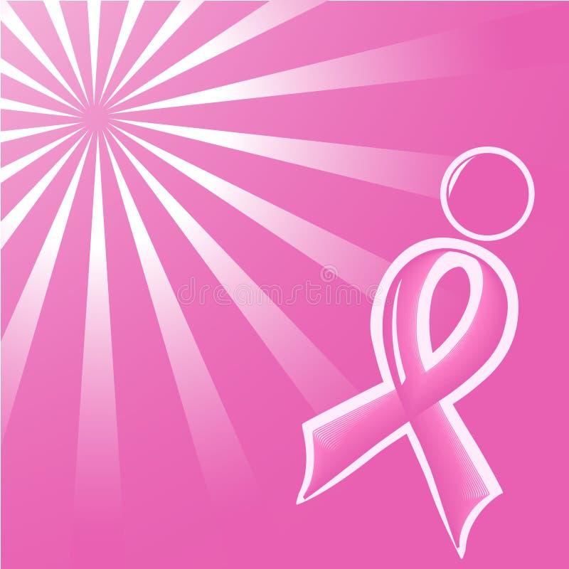 Ilvector Lustration des rosafarbenen Stützfarbbands   lizenzfreie abbildung