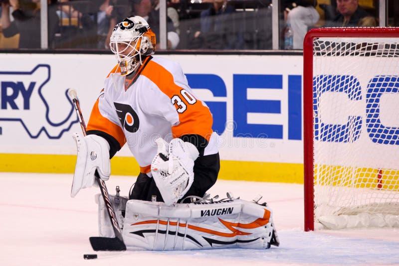 Ilya Bryzgalov Philadelphia Flyers. Philadelphia Flyers goalie Ilya Bryzgalov #30 stock photo