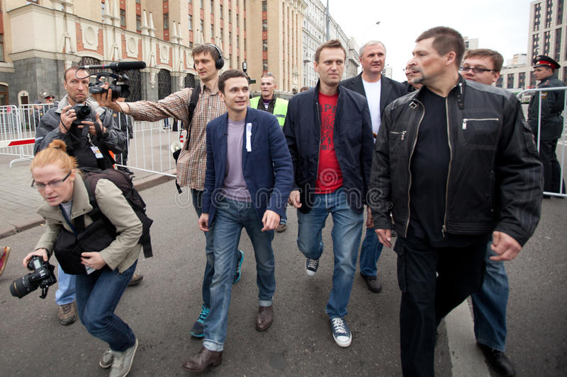Download Ilya Yashin And Alexei Navalny Editorial Image - Image: 26677495