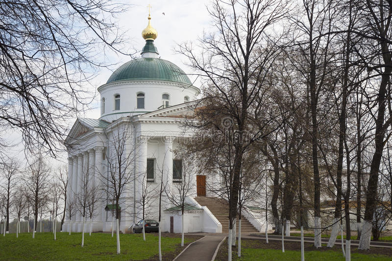 Ilyinsko-Tikhvin Church, Yaroslavl stock photo