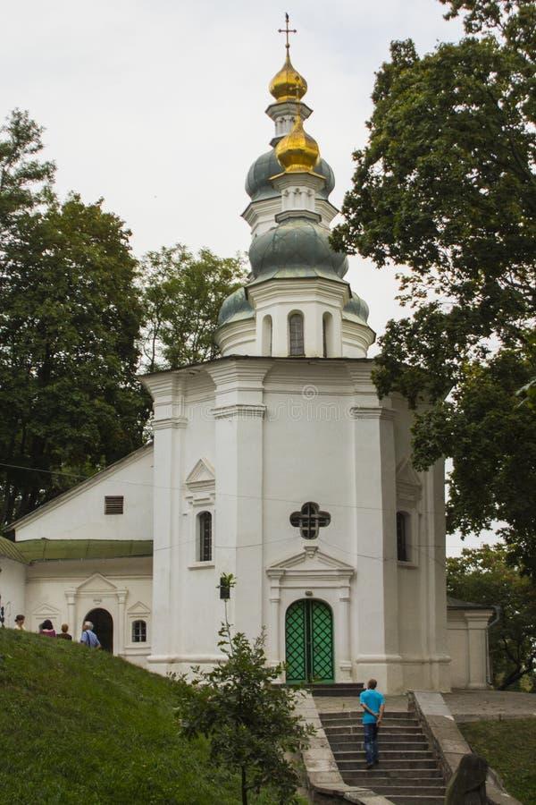 Ilyinskykerk in Chernihiv ukraine royalty-vrije stock foto's