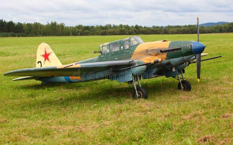 ilyushin il 2 бомбардировщиков тактическое стоковые изображения rf