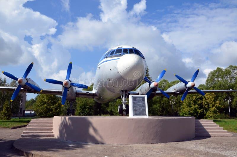 Ilyushin Il-18 стоковое фото rf