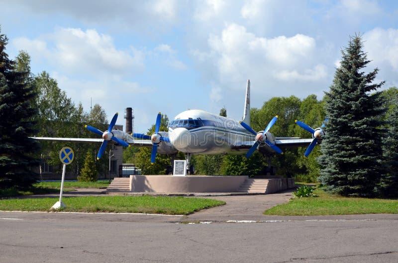 Ilyushin Il-18 стоковое изображение rf
