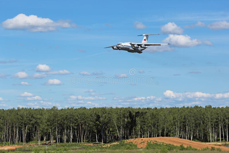 Ilyushin Il-76 fotografia de stock royalty free