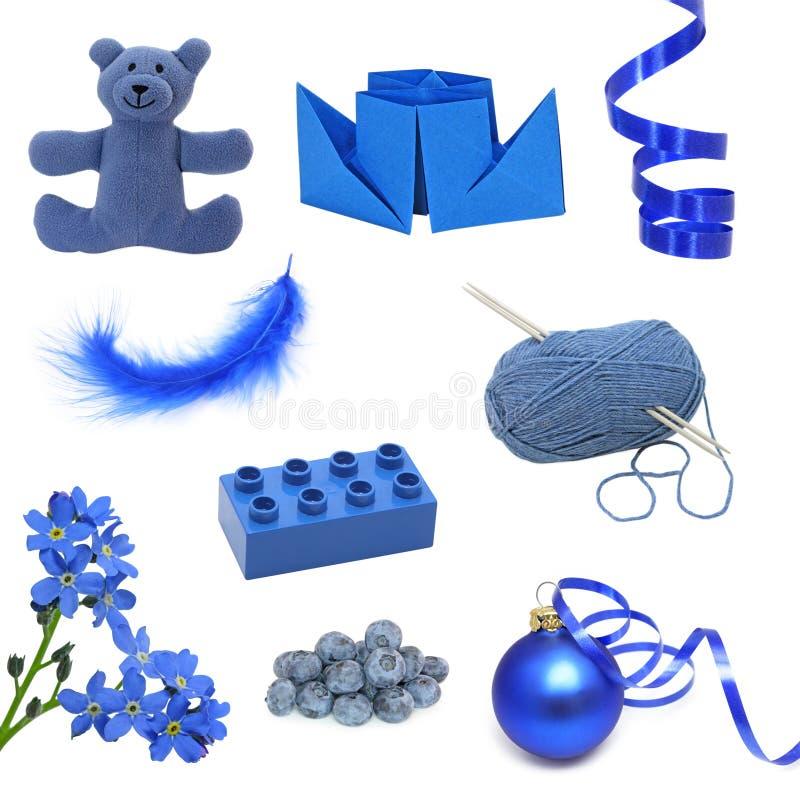 Imágenes azules imagen de archivo libre de regalías