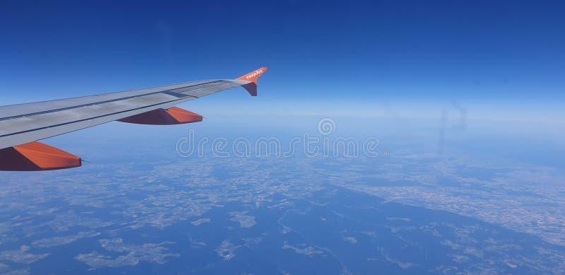 imágenes de aviones del easyJet imágenes de archivo libres de regalías