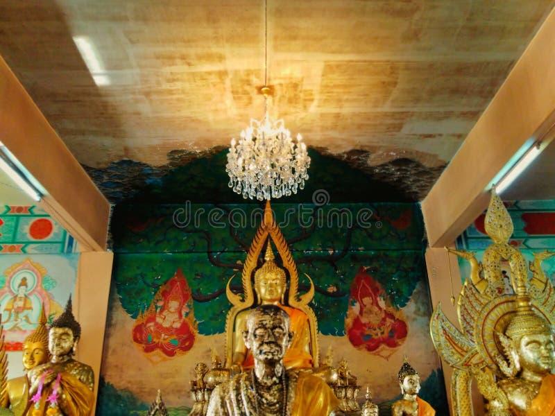 Imágenes de Buda, templos foto de archivo libre de regalías