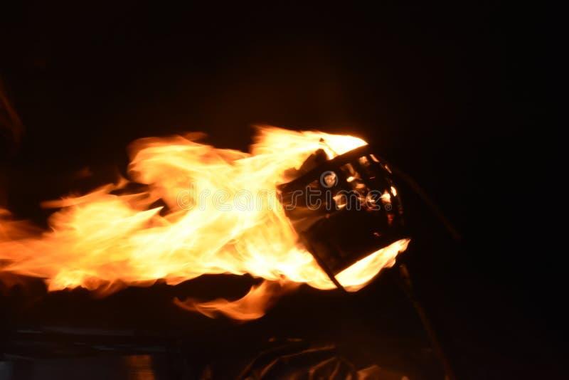 Imágenes de la llama del fuego, quema del fuego imagen de archivo libre de regalías
