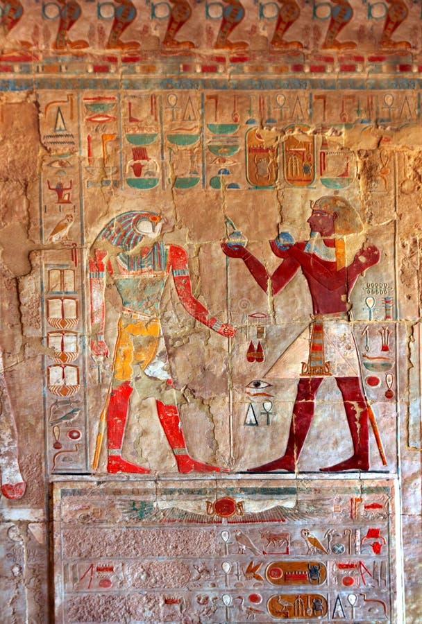 Imágenes del color de Egipto antiguo fotos de archivo