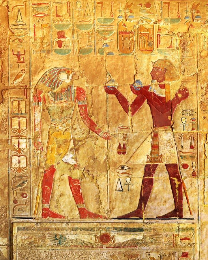 Imágenes del color de Egipto antiguo imágenes de archivo libres de regalías