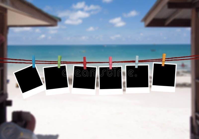 Imágenes del fondo en la playa fotografía de archivo libre de regalías
