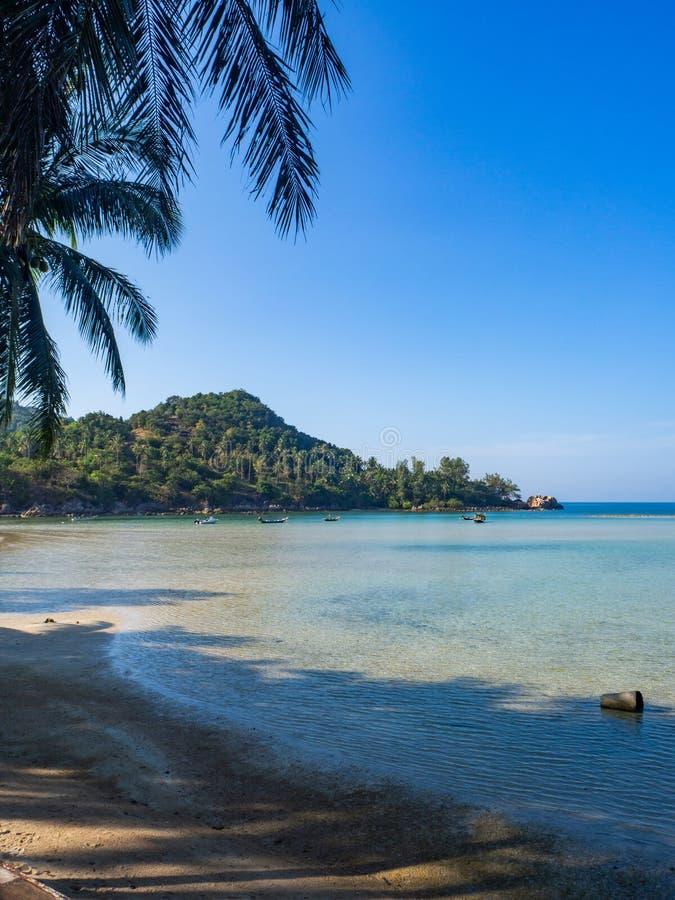 Im?genes hermosas de playas arenosas en Koh Phangan fotografía de archivo