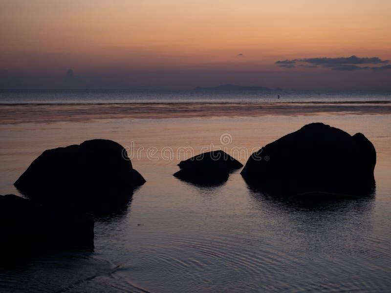 Im?genes hermosas en la isla de Phangan fotos de archivo libres de regalías