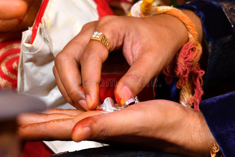 Imágenes indias del matrimonio, fotos comunes imagen de archivo