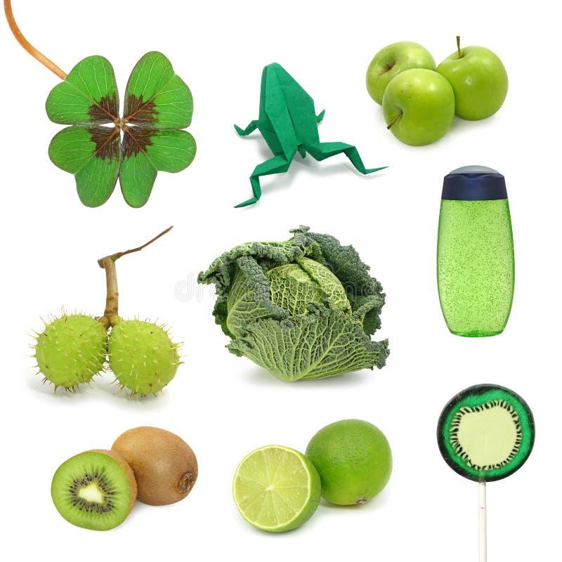 Imágenes verdes fotografía de archivo