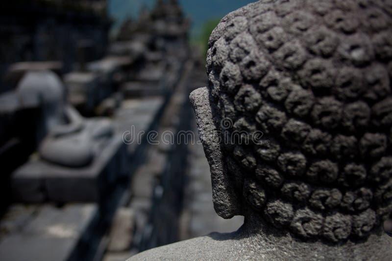 Im écoutant ¼ ŒIndonesia de Barabudurï images libres de droits