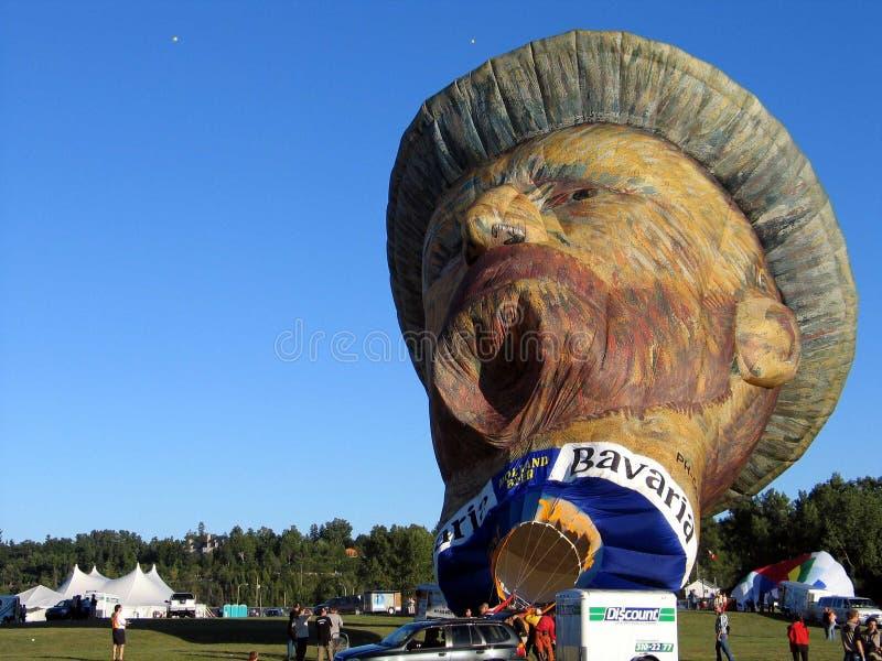 Im Ballon aufsteigen in Gatineau Kanada, Nordamerika stockbilder