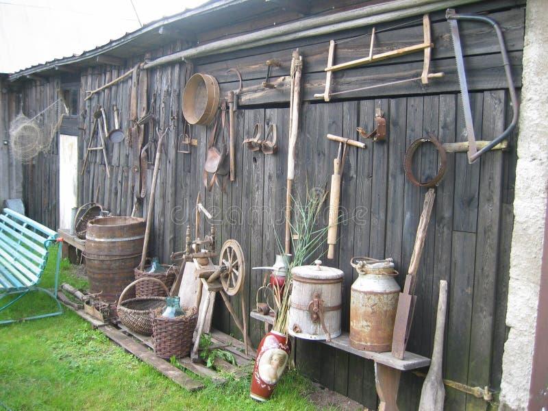 Im Dorf Lizenzfreie Stockfotos