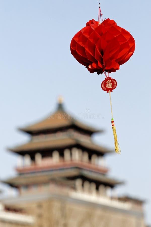 Im Früjahr Festival von China stockbild