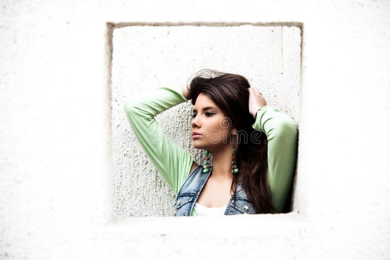 Im Freienportrait stockbilder